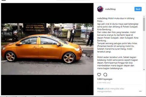 "Modifikator ""Vios Muka Dua"" di Bandung Masih Misteri"