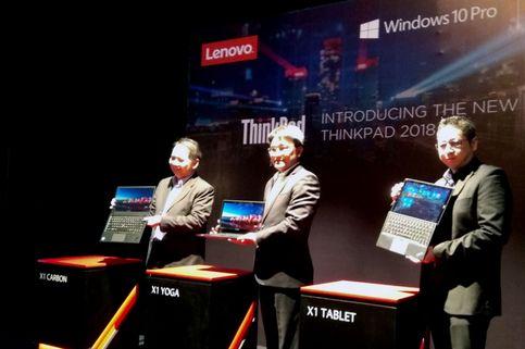 Lenovo Boyong Trio Laptop ThinkPad X1 ke Indonesia
