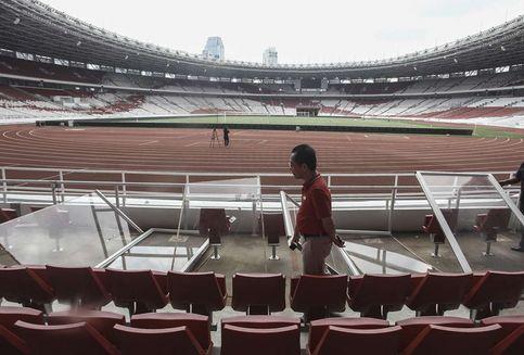 Soal Kerusakan SUGBK, Panitia Piala Presiden Telah Ganti Uang Kerugian