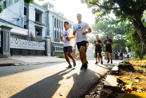 Mengubah Hidup Lewat Lari