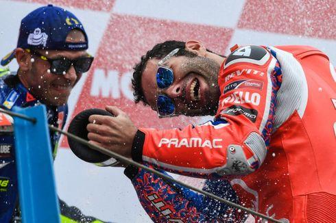 Danilo Petrucci, antara Senang dan Marah Setelah Finis Kedua