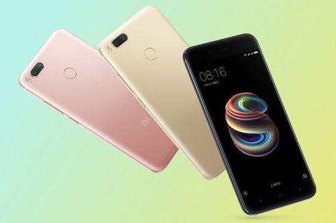 Resmi, Xiaomi Mi 5X Berkamera Ganda dengan Harga Rp 3 Juta