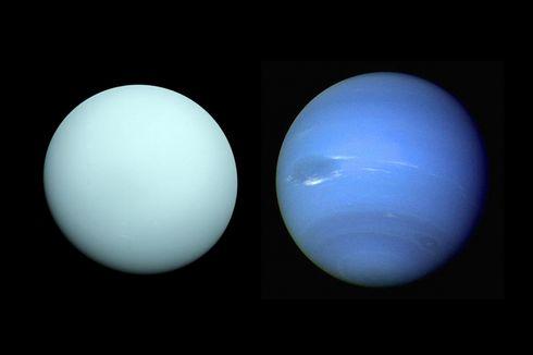 Astronom: Bau Planet Uranus Seperti Telur Busuk