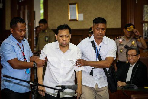 Melihat Perjalanan Setya Novanto dalam Kasus E-KTP pada 2017
