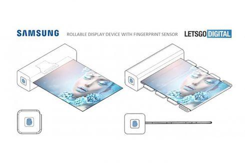 Samsung Patenkan Teknologi Layar Gulung