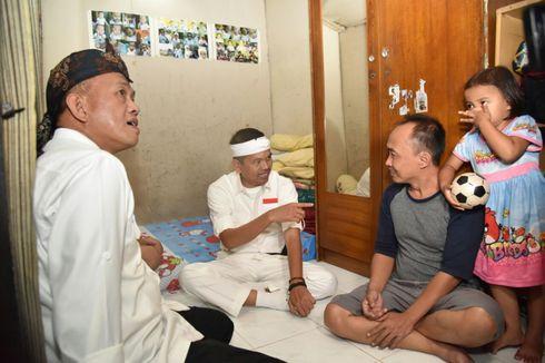 Dedi Mulyadi Sempat Kunjungi Rumah Warga Miskin Sebelum Daftar ke KPU