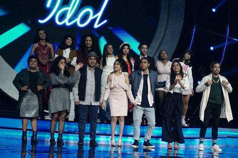 12 Kontestan Lolos ke Babak Spektakuler Indonesian Idol