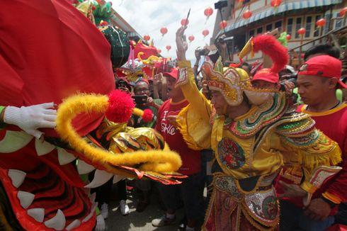 Cap Go Meh Singkawang, Sembilan Naga Santo Yosep Group Raih Rekor Muri