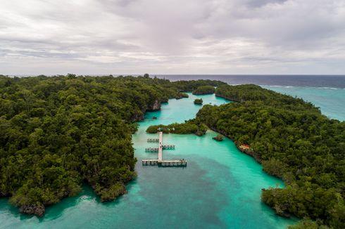 Pulau Baer, Laguna Menawan di Utara Kei Kecil