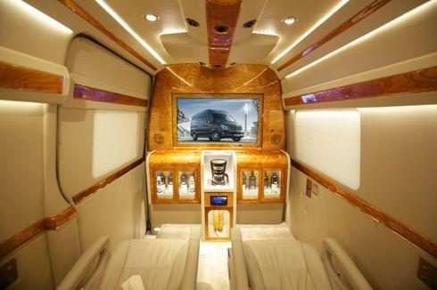 Modifikasi Interior Mercedes-Benz Sprinter A3 Jadi Super Mewah