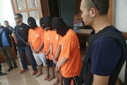 Polisi Bekuk 4 Pengguna Narkoba, Salah Satunya Oknum PNS Kota Bandung