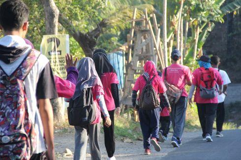 Nursyda Berjalan Kaki Sejauh 60 Km agar Banyak Orang Bisa Membaca (1)