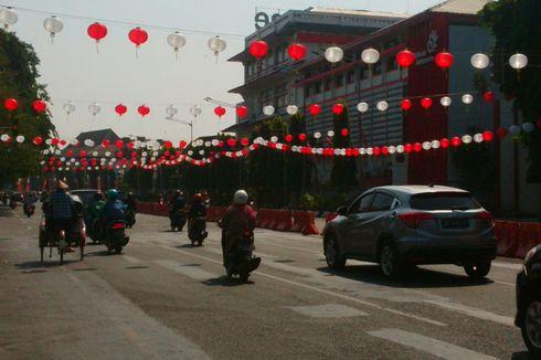 2.000 Lampion Merah Putih Semarakkan HUT Kemerdekaan RI di Solo