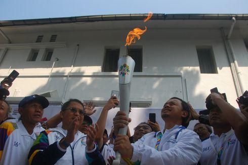 Wali Kota Bima Arya Terima Api Obor Asian Games di Rumah Dinasnya