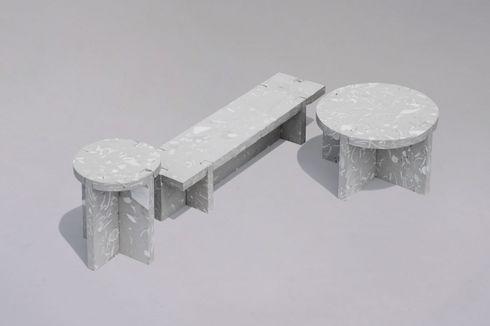 Studio China Ciptakan Perabot dari Limbah Keramik