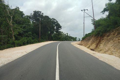 Progres Konstruksi Akses Jalan ke Nihiwatu Tembus 100 Persen