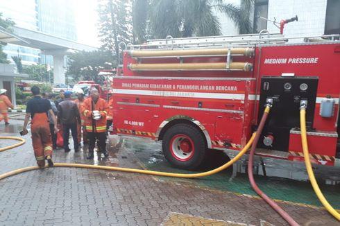 Kebakaran di Ruang Server Kantor Kemenkumham Sudah Padam
