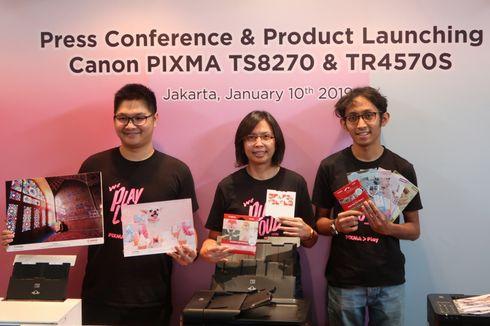 Canon Luncurkan 2 Printer Pixma Baru untuk Milenial dan Kantoran