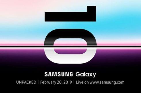 Samsung Galaxy S10 Bisa Dipesan di Indonesia Mulai 22 Februari