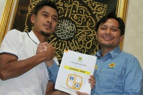 Samsul Arif Putuskan Bertahan di Barito Putera karena Evan Dimas