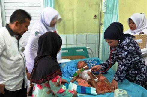 Sehari di Rumah Sakit, Anak Gizi Buruk Mulai Bisa Minum Susu