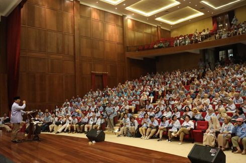 Komunitas Rabu Biru Pimpinan Titiek Soeharto Deklarasi Dukung Prabowo-Sandiaga
