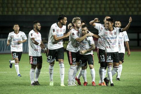 Klasemen Liga 1 2019, Bali United Kudeta Tira Persikabo