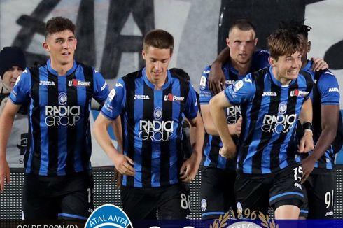Klasemen Liga Italia, Atalanta Geser AS Roma di 4 Besar, AC Milan Ke-7