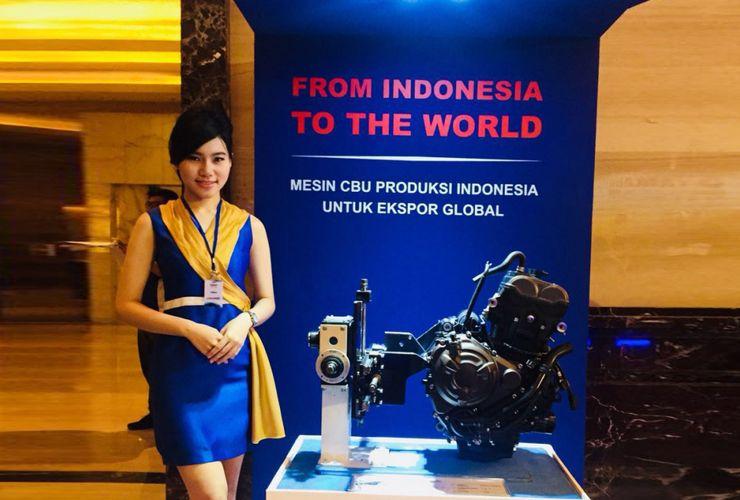 Mesin MT-07 dari Yamaha Indonesia untuk Dunia