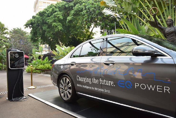 Mercedes Indonesia Tetap Jual Mobil Listrik Meski Tanpa Regulasi LCEV