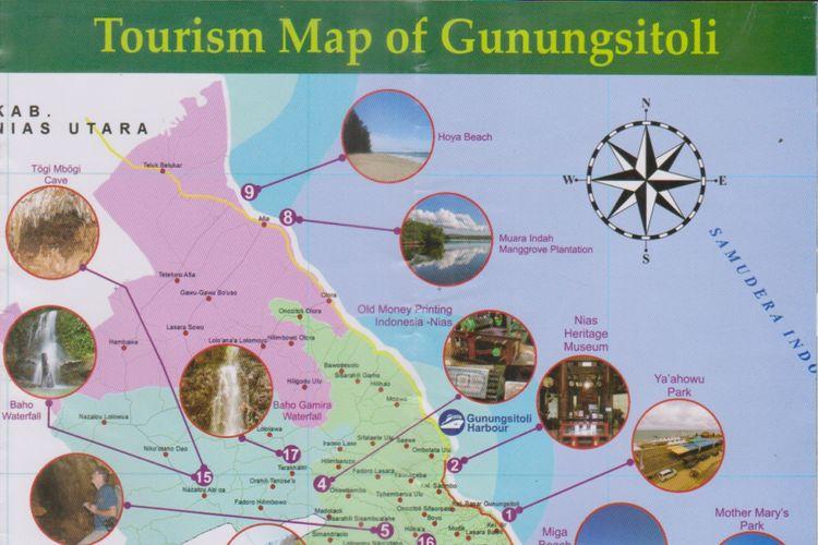 17 Destinasi Wisata Andalan Di Gunungsitoli Kepulauan Nias Kompas Com