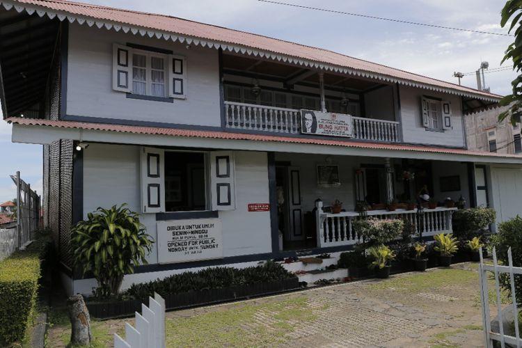 Kompas Andreas Lukas Altobeli Rumah Kelahiran Bung Hatta Di Bukittinggi Sumatera Barat