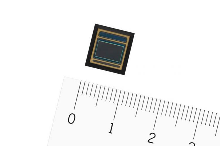 Ilustrasi sensor kamera Sony.