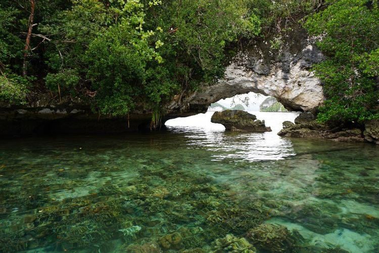 Spot lain di Teluk Kabui di Raja Ampat.
