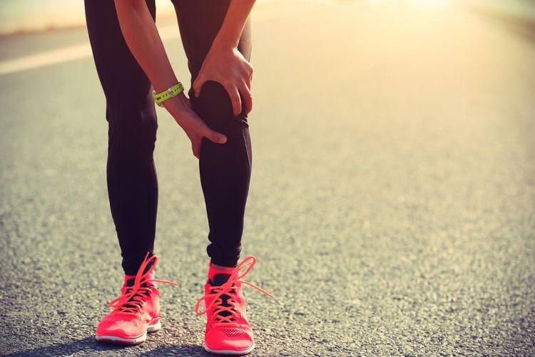 Sakit lutut saat berlari