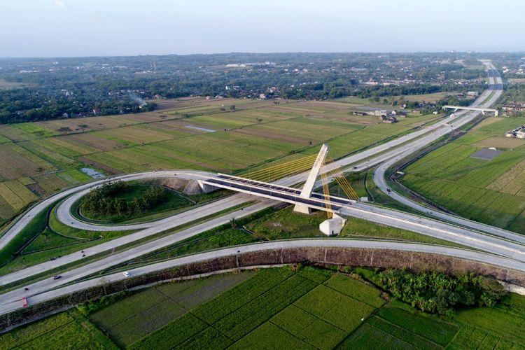 Jembatan Klodran di Tol Solo-Kertosono