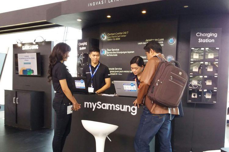 Samsung Zone di Bandara Soekarno Hatta