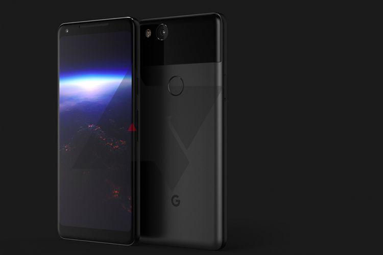 Bocoran foto Google PIxel XL 2