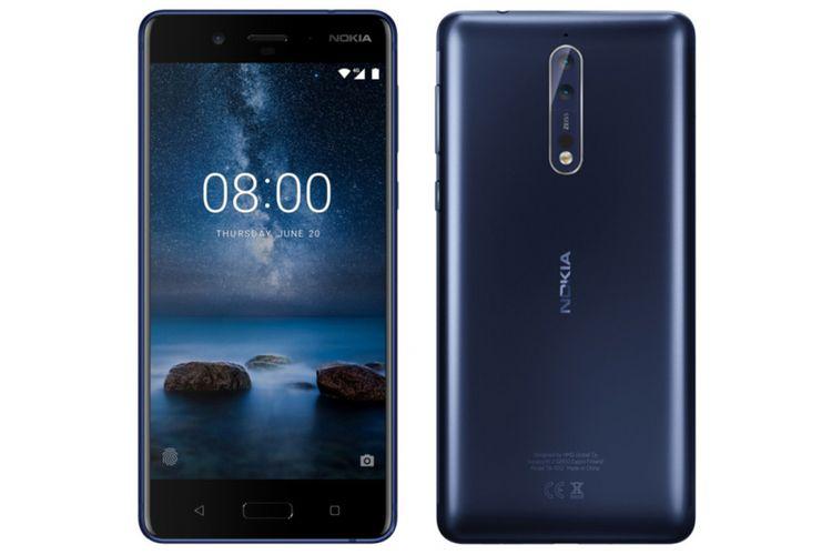 Bocoran gambar press render Nokia 8.