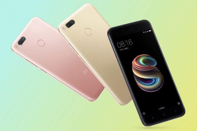 Xiaomi Mi 5X resmi dirilis dalam sebuah acara di China, Rabu (26/7/2017)