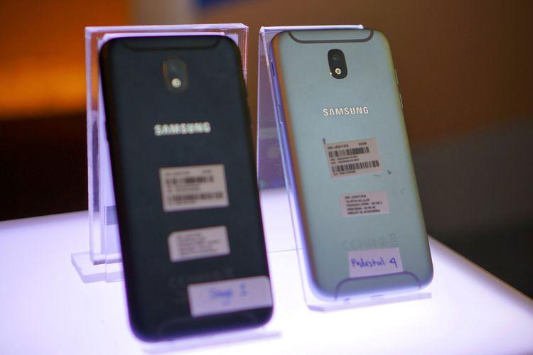 Tampak Belakang Samsung Galaxy J5 Pro