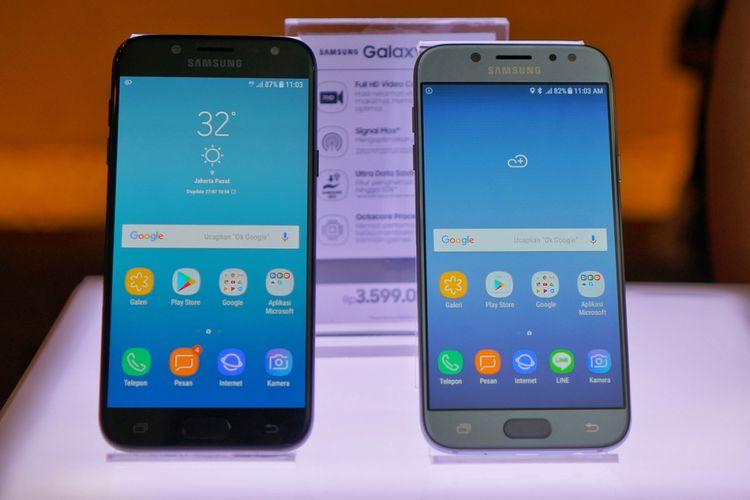 Tampak Depan Samsung Galaxy J5 Pro