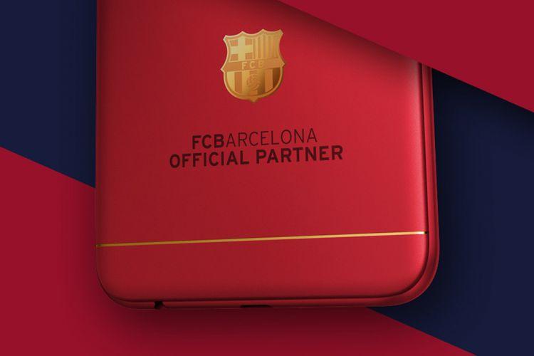 Teaser Oppo F3 edisi khusus Barcelona