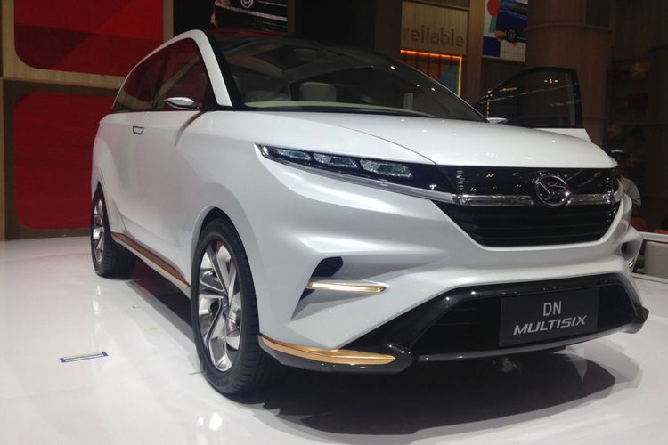 Konsep Daihatsu DN Multisix, Kamis (10/8/2017).`