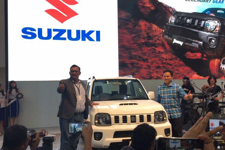 Suzuki Jimny diluncurkan di GIIAS 2017.