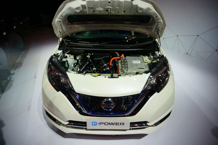 Nissan Note e-Power di GIIAS 2017