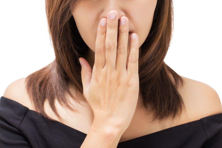 Hasil gambar untuk Akibat dari Bau Mulut yang Tidak Diatasi