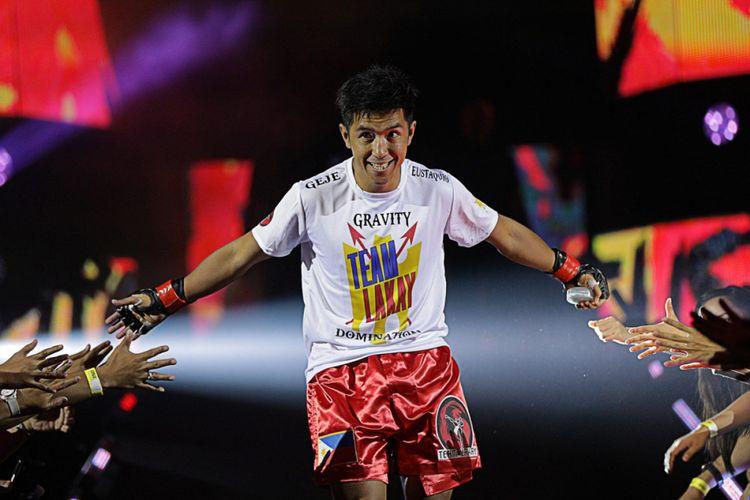Petarung ONE Championship asal Filipina, Geje Eustaquio.