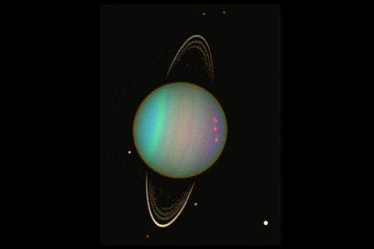 Teleskop hubble tangkap bintik hitam raksasa di neptunus u telko id
