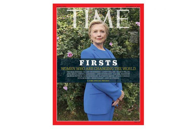Cover majalah Time dijepret menggunakan iPhone